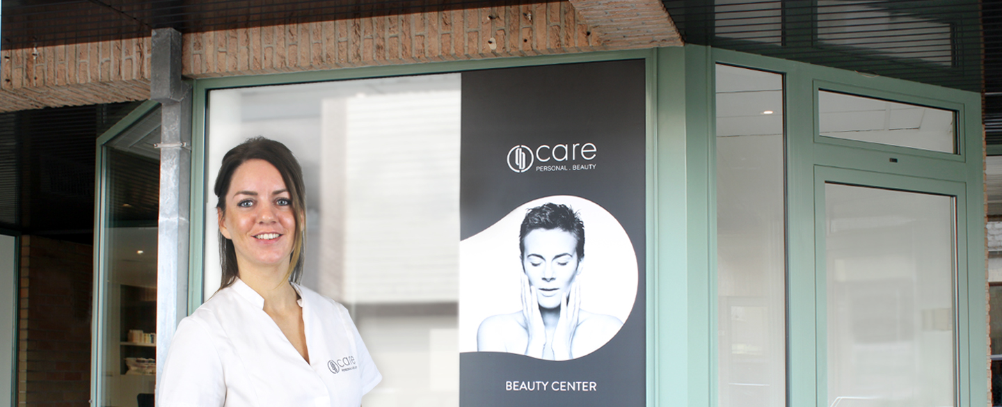 Care Beauty Center Knesselare Banner